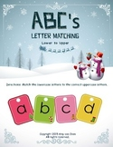 Letter Matching File Folder Game