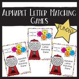 Letter Matching Games Bundle