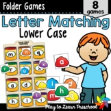 Letter Matching Games - Lower Case Letters