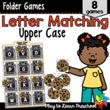 Letter Matching Games - Upper Case Letters