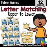 Letter Matching Games - Upper to Lower Case Letters