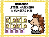Letter Matching Hedgehog
