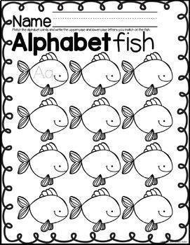 ALPHABET MATCH LITERACY CENTER
