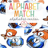 Alphabet Match Literacy Center