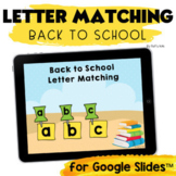 Letter Matching Lowercase and Uppercase Activities for Goo