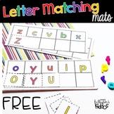 Letter Matching Mats {FREE}
