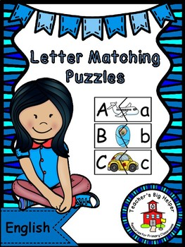 Letter Matching Puzzles