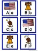 Letter Matching Puzzles - America {Uppercase and Lowercase Letters}