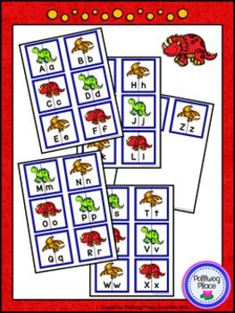 Letter Matching Puzzles - {BUNDLE #1}