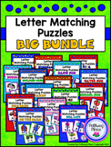 Letter Matching Puzzles - {BUNDLE #1}
