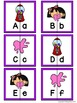 Letter Matching Puzzles - Bubble Gum {Uppercase and Lowercase Letters}