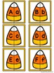 Letter Matching Puzzles - Candy Corn {Uppercase and Lowercase Letters}