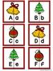 Letter Matching Puzzles - Deck the Halls {Uppercase and Lo