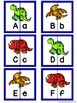 Letter Matching Puzzles - Dinosaurs {Uppercase and Lowercase Letters}