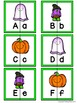 Letter Matching Puzzles - Halloween {Uppercase and Lowercase Letters}