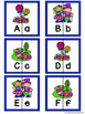 Letter Matching Puzzles - Lollipop Lane {Uppercase and Low
