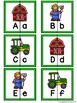 Letter Matching Puzzles - On the Farm {Uppercase and Lower