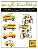 Letter Matching Puzzles with Vehicle Backgrounds