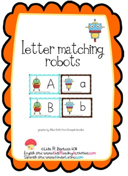 Letter Matching Robots
