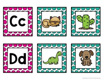 Letter Matching Sound Cards