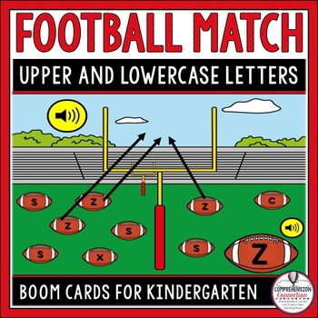 Letter Matching Upper and Lowercase Letters Activity