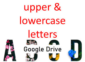 Letter Matching Uppercase and Lowercase Game - Grade PreK - Google Drive