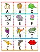 Letter Matching with Pictures, Letter Recognition and Identity, Beginning Sounds
