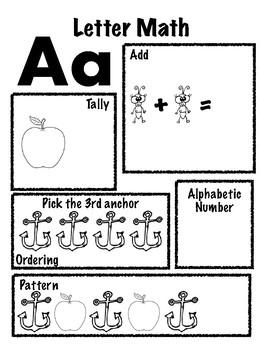 Letter Math