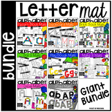 Alphabet Letter Mats Build It BUNDLE - Fine Motor Fun!