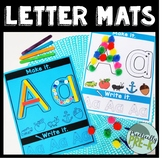 Letter Mats: Make It; Write It