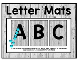 Letter Mats for Loose Parts