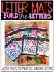 Letter Mats to Build the Letters