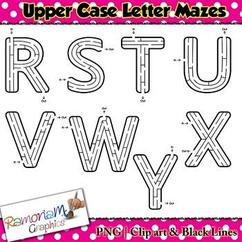 Letter Maze Clip art