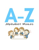 Letter Mazes for Letter Recognition and Fine Motor Control