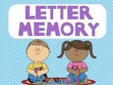 Letter Memory Flipchart