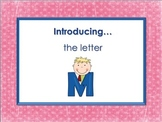 Letter Mm - Alphabet Lesson – Power Point – Interactive –