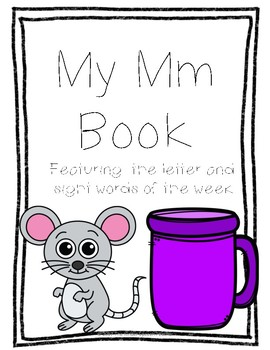 Letter Mm Book