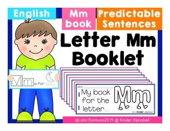 Letter Mm Booklet- Predictable Sentences