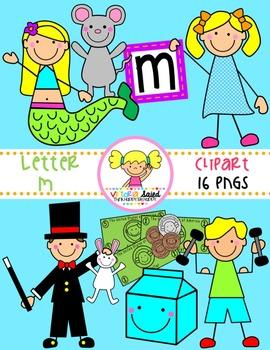 Letter Mm Clipart