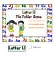 Letter Ll File Folder Game