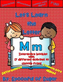 Letter Mm- Interactive Activities Booklet