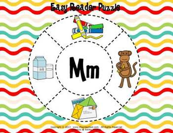 Letter Mm Language & Literacy Activity Center {COMMON CORE ALIGNED}