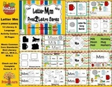 Letter Mm Language & Literacy Activity Center {COMMON CORE
