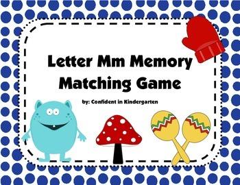 Letter Mm Memory Game