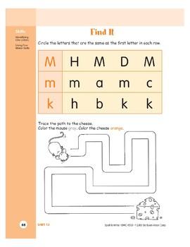 Letter Mm (Mouse)
