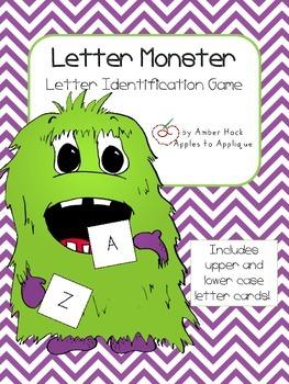 Letter Monster Activity