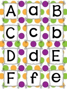 Letter Monster Game