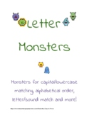 Letter Monsters