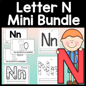 Letter N Worksheet Teaching Resources Teachers Pay Teachers