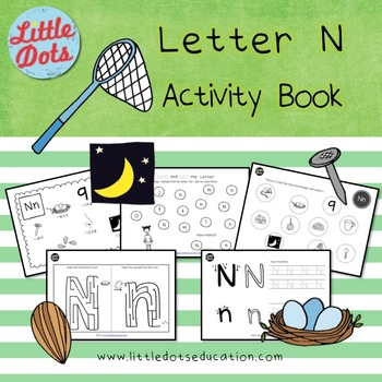 Letter N Activities and Worksheets